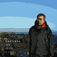 2007.02.11.初島-1.初島.美海潜人&富士山