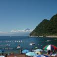 2007.08.13.井田-4.井田.富士山&井田海岸